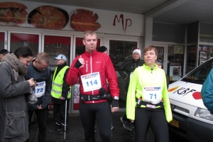 Halvmarathon 27 november 2011